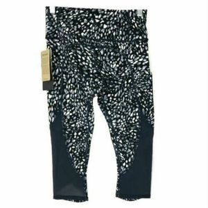 Athleta Spotty Up for Anything Crop Pants Mesh NWT